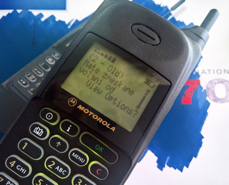 Motorola 8700 International