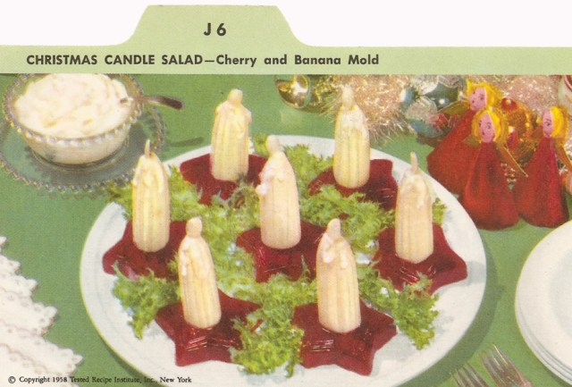 Christmas Candle Salad