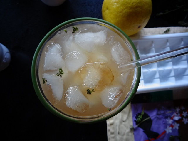 Grapefruit, Thyme and Pepper Cocktail3