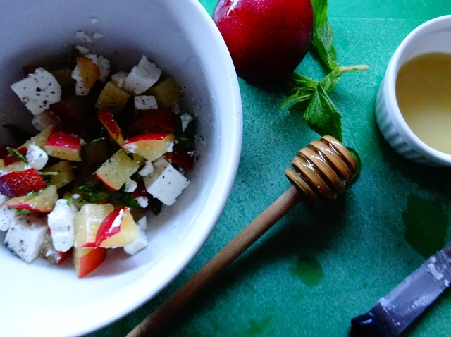 Belle & Sebastian Plum & Feta Salad
