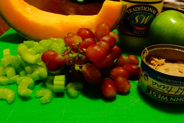 Surfer's Paradise Melon Salad Ingredients