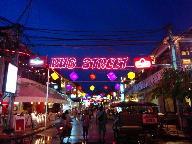 Pub Street  - Siem Reap
