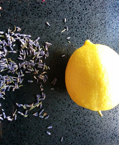 Lavender Lemonade Ingredients
