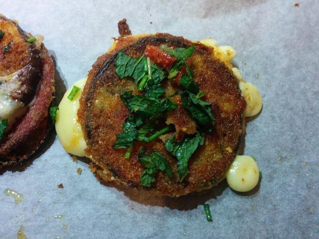 Eggplant Salami Sandwich 4