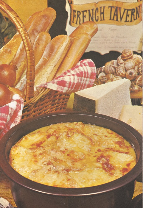 French Onion Soup Gratinee 1977