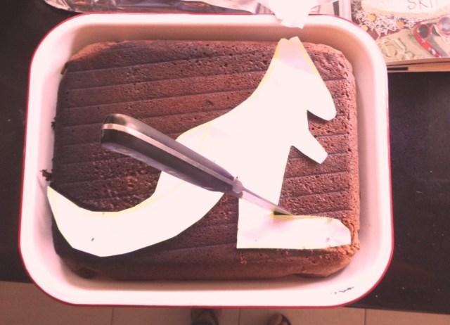 Skippy Cake Template