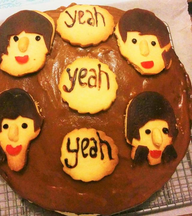 beatles cake5