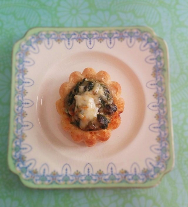 Old Bay Crab, Mushroom & Spinach Vol Au Vents