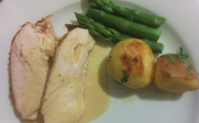 Vincent Price Chicken in Champagne Sauce3