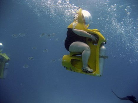 scuba chair