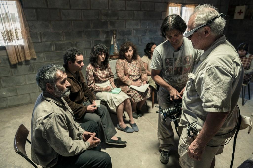 Preparando Para Filmar la Prison del Padre Yalics