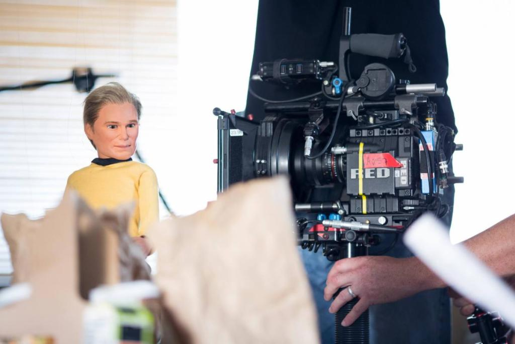 Behind the Scenes: Captain Kirk Stillwood on the set of Unbelievable!!!!!