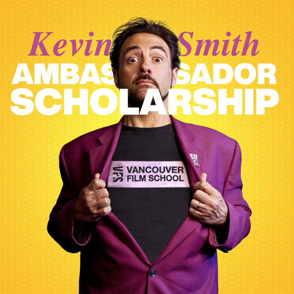 Vancouver Film School Announces the 2021 Kevin Smith Ambassador Scholarship