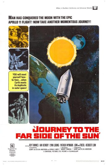 Journey to the Far Side of the Sun - Affiche US