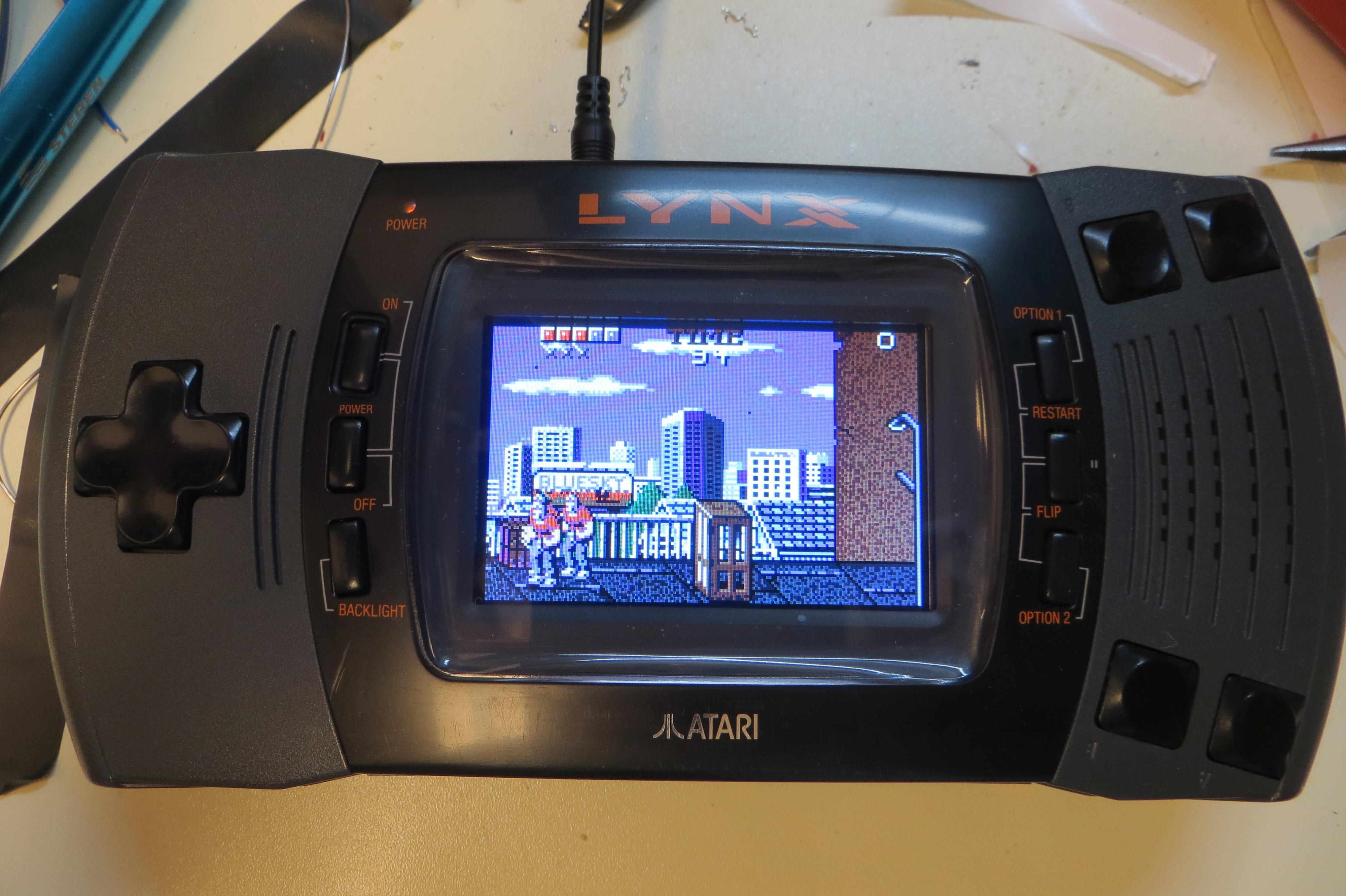 Atari Lynx Recap Refresh And LCD Mod RetroGaming At