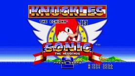 Sonic Jam – Knuckles in Sonic 2