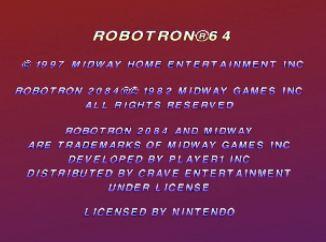 Robotron 64 Screen Shot 2017-06-06, 3.22 PM 2