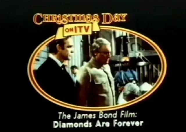 Christmas Day on ITV - James Bond