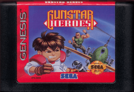 gunstar heroes genesis cartridge