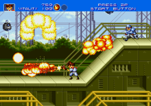 gunstar heroes genesis screenshot 1