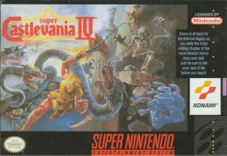super castlevania iv snes box art front cover