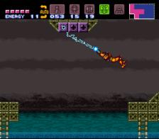 super metroid snes screenshot 2