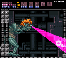 super metroid snes screenshot 3