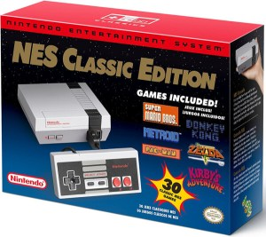 nintendo entertainment system nes classic edition console package