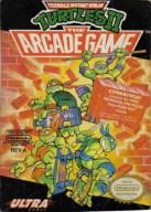 teenage mutant ninja turtles II the arcade game nes box art front cover