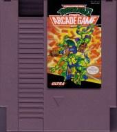 teenage mutant ninja turtles II the arcade game nes cartridge