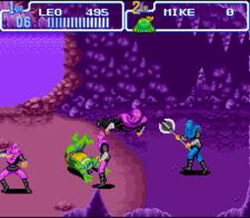 teenage mutant ninja turtles turtles in time snes screenshot 1