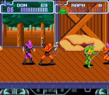 teenage mutant ninja turtles turtles in time snes screenshot 2