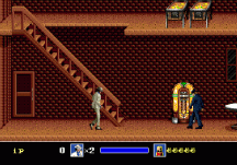 michael jackson's moonwalker genesis screenshot 1