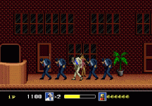 michael jackson's moonwalker genesis screenshot 2