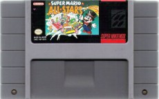 super mario all stars snes cartridge