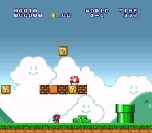 super mario all stars snes screenshot 1