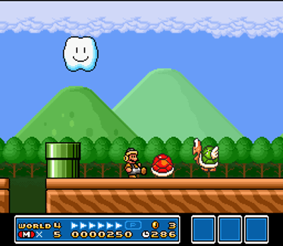 super mario all stars snes screenshot 3