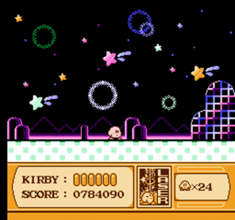 kirby's adventure nes screenshot 2