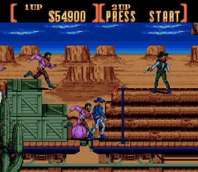 sunset riders genesis screenshot 3