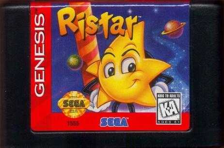 ristar genesis cartridge