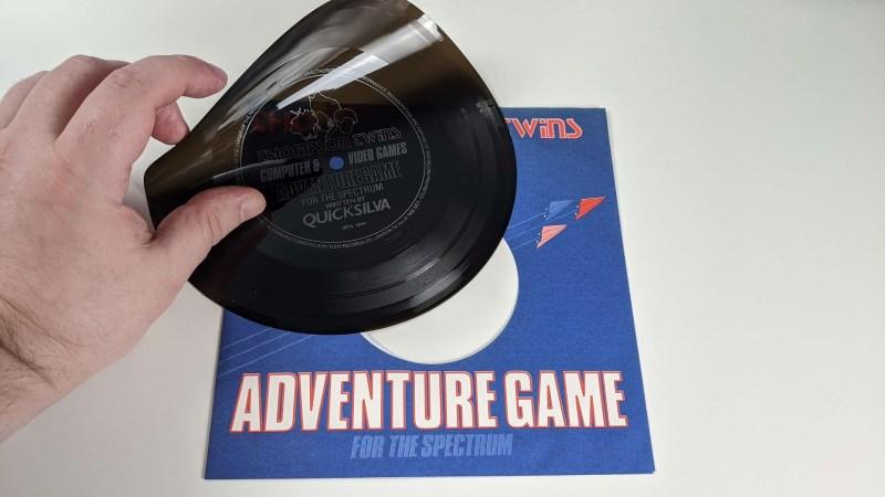 Thompson Twins Adventure game on flexi disc