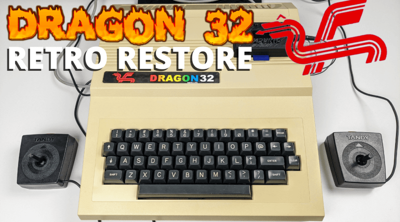 Dragon 32 Retro Restore