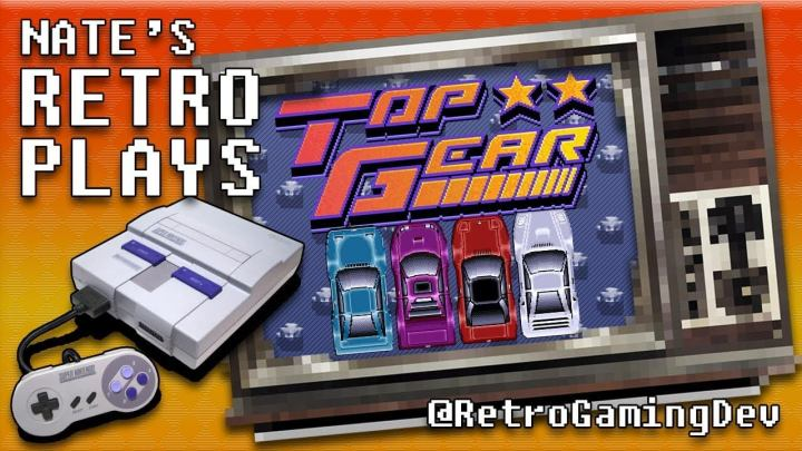 Top Gear Trilogy for the SNES | Nate's RetroPlays