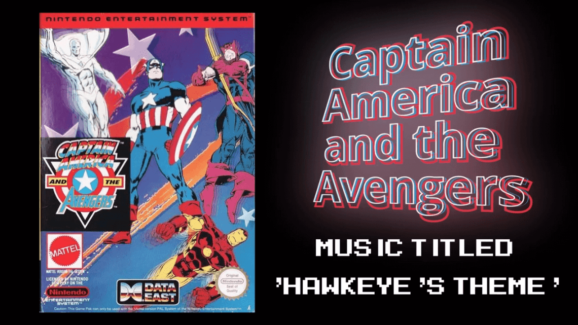 Captain America and the Avengers (NES) Hawkeye's Theme | Chiptune Favorites