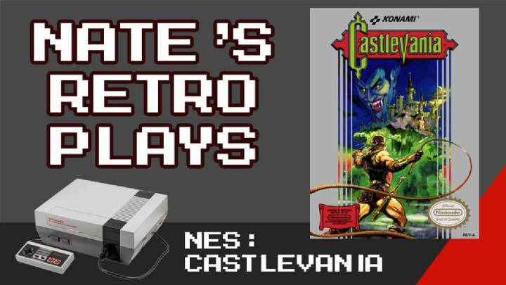 Full Run – Castlevania for the NES | Level and Boss Strategies | Nate's RetroPlays