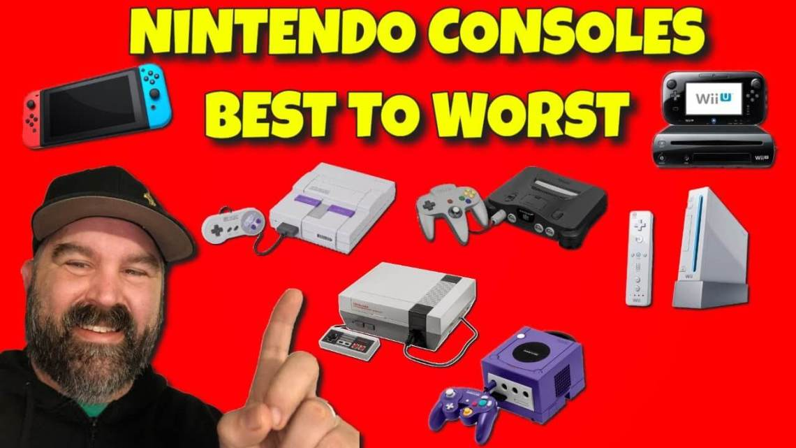 Nintendo Consoles From Best to Worst