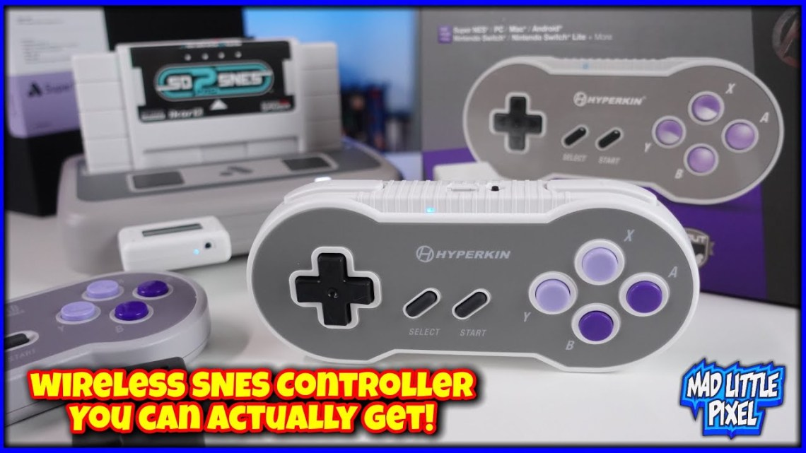 A Wireless SNES Controller For The Super NT You Can Actually Buy! But Is It Any Good?