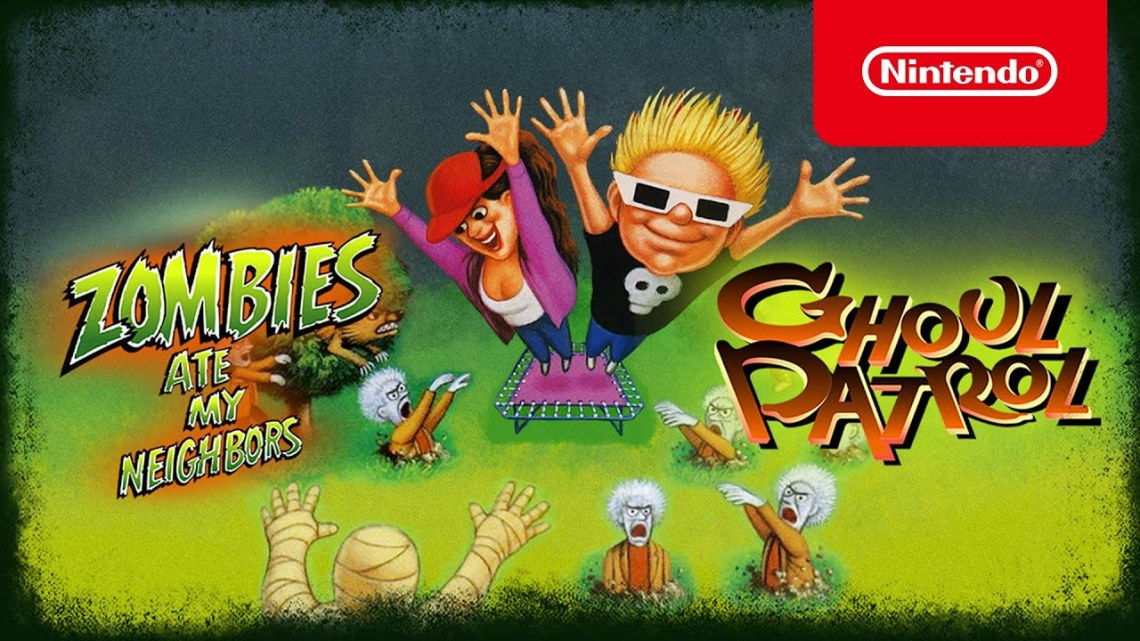 Zombies Ate My Neighbors and Ghoul Patrol – Announcement Trailer