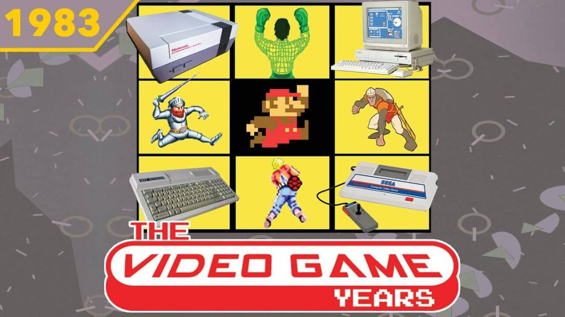 The Video Game Years 1983 – Full Gaming History Documentary