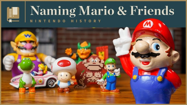 How the Mario Characters Got Their Names | Gaming Historian